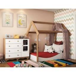 Comoda Infantil Uli + Mini Cama Montessoriana Uli (Promoção)
