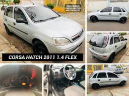 Corsa Maxx 1.4 Flex 2011 + Central Multimídia + Motor Novo R$ 19.999,00 Ac Trcs + Vr