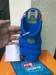 Sandalia infantil masculina NOVA