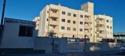 (PX) Apartamento de 2 dormitórios com sacada  vista mar no Balneário do Estreito