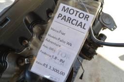 Motor Parcial Fiat Palio Adventure 2003 1.8 8v