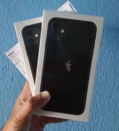 IPhone 11 64GB LACRADO Preto Nota Fiscal Garantia 1 Ano!