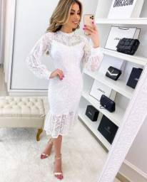Vestido branco (noivinha civil)