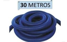 Título do anúncio: Mangueira azul flutuante para piscina 30m