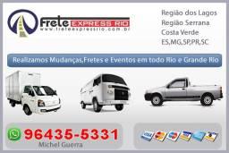 Fretes de móveis e eletrodomésticos em geral / Rio e grande Rio - 24hrs