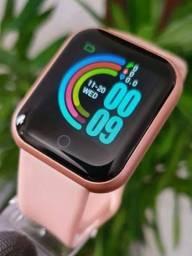 Relógio Smartwatch D20 Rosa