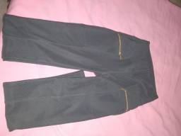Calça Pano mole cintura alta M