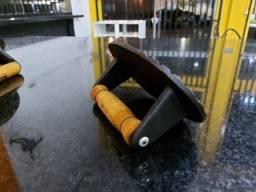 Título do anúncio: Amassador prensador de ferro fundido para bifes e hamburgueres
