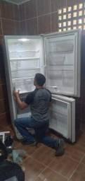 Título do anúncio: Consertamos todas as marcas de geladeira