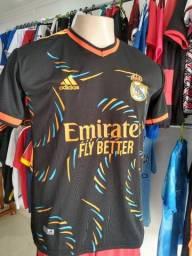 Camisas Times premium Real Madrid Flamengo