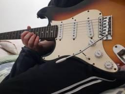 Guitarra Stratocaster, da marca memphis by tagima