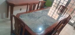 Mesa Jantar  c/ 8 cadeiras e Aparador