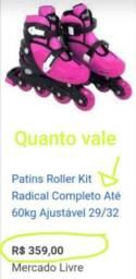 Título do anúncio: Patins Roller número 29/32
