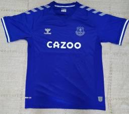Camisa Everton Modelo 20/21 Original Importada Entrego
