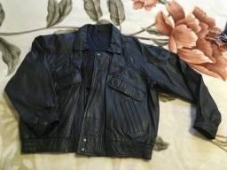 Jaqueta em couro masculina