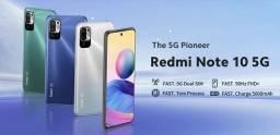 Xiaomi Redmi Note 10 Versão Global 5G, NFC. Melhor que Note 10 normal!