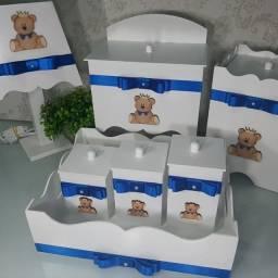 Título do anúncio: Kit higiene bebe ( Príncipe urso )