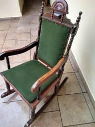 Cadeira antiga balanço