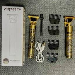 Título do anúncio: Máquina de Cabelo e Barba Vintage T9