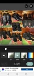 2 pares de sapatos seminovos numero 35.