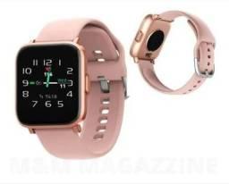Título do anúncio: Smartwatch xiaomi Redmi Turu P8 Rosa Frete grátis