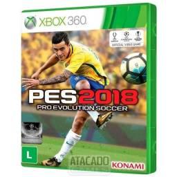 PES 2018 - Xbox 360 (midia fisica)