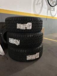 Vendo jogo de pneus 265/60 R18 (4unidades)