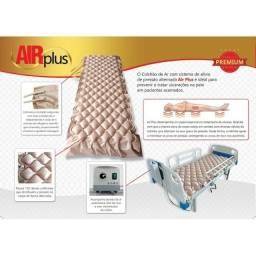 Título do anúncio: Colchão Inflável Anti Escara Pneumático de Solteiro modelo Air Plus - Dellamed (Usado)