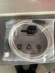 Cabo USB - novo!