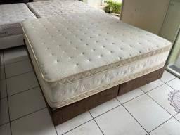 cama box queen size medida especial - Maxflex