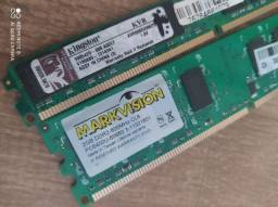 MarkVision 2GB DDr2 e KingSton 2GB DDr2 800Mhz