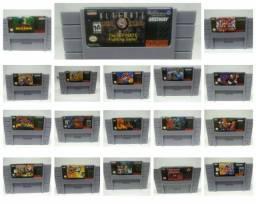 Título do anúncio: Fitas Super Nintendo (R$ 70 reais cada)
