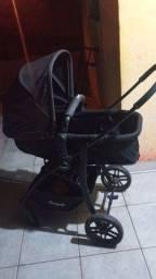 Vendo carrinho de bebê Moisés,marca Burigotto,com bebê conforto.