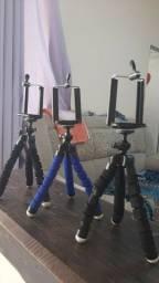 Mini Tripe Flexivel Celulares E Cameras Suporte Universal
