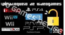 Desbloqueio de video game