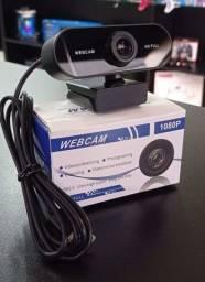 Webcam com Microfone Full HD 1080p