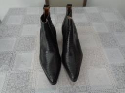 Bota De Couro Agabê Original Nova Tamanho 41/42