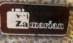 Maleta médica marca zamarian com segredo e costurada de couro