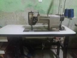 Maquina de costura duas agulhas