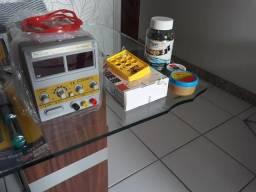 Vendo Estação de solda yx850 110v, Fonte de alimentação, multimetro digital e outros.