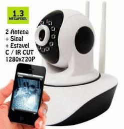 Camera Ip 1.3Mpx HD 720 P2P Noturna Wireless - Não Precisa de DVR