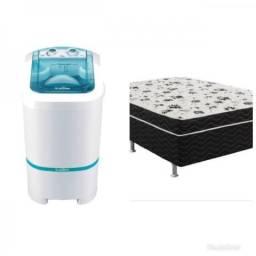Lavadora+ cama box
