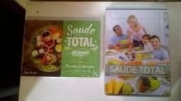 Livro Saúde Total + Livro Saúde Total Na Cozinha