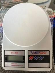 Balança Digital Precisão 1g A 10kg - Dieta Cozinha Fitness