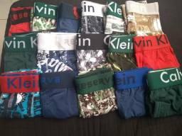 Cuecas Calvin Klein e Reserva