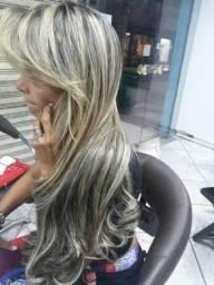 Promoção de mega hair, selagem e cabelos
