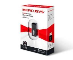 Mini Adaptador Mercusys USB Wireless N300, MW300UM