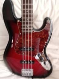 Fender squier jazz bass, usado comprar usado  Manaus