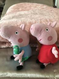Peppa e George