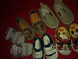 Sapatos número 17, 18, 20